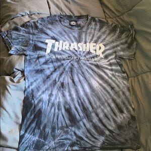 Thrasher tie die t shirt
